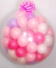 Шар сюрприз с шариками