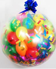 Шар сюрприз с шариками и конфетти