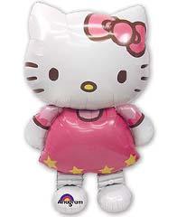 Фольгированный ходячий шар Kitty