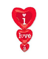 Шар Сердца Я люблю Тебя (ILY)