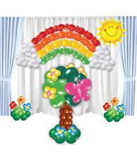 Оформление детского сада шарами № 6