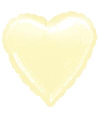 Сердце Металлик Ivory 81 см