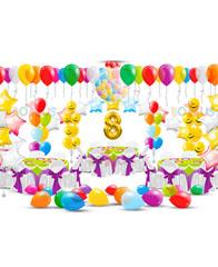 Оформление шарами на день рождение № 1
