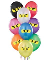 Латексные шары Лего Ниндзяго