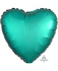Сердце Сатин Jade 46 см