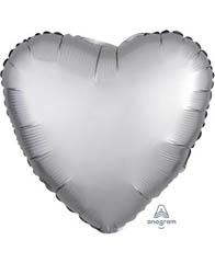 Сердце Сатин Paltinum 46 см