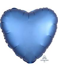 Сердце Сатин Azure 46 см