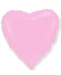 Сердце Пастель Pink 46 см