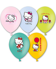 Латексные шары Hello Kitty